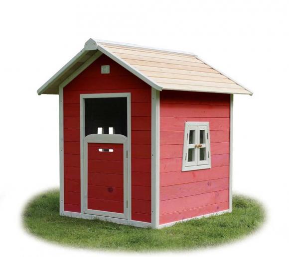 EXIT Kinderspielhaus Beach 100 Rot inkl. 2 Seitenfenster