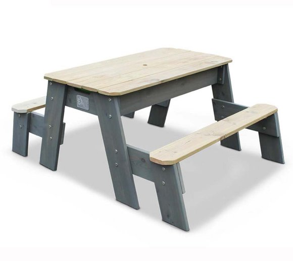 EXIT Aksent Sand, Wasser & Picknicktisch inkl. 2 Bänken und Wannen