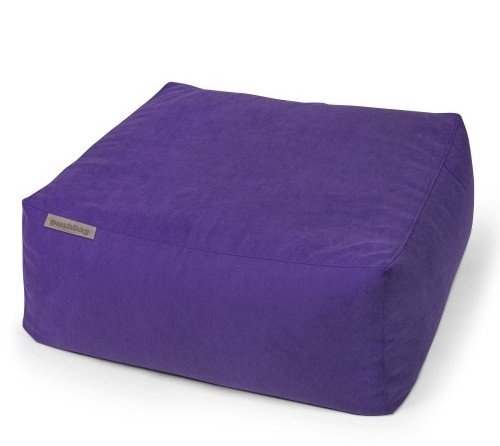 Pushbag Sitzsack, Sitzkissen, Sitzliege Easy Soft violett