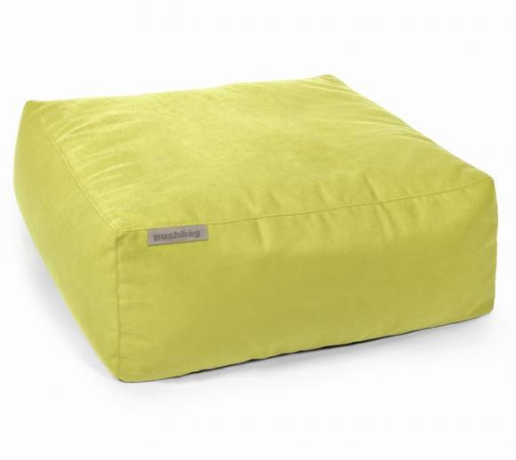 Pushbag Sitzsack, Sitzkissen, Sitzliege Easy Soft lime
