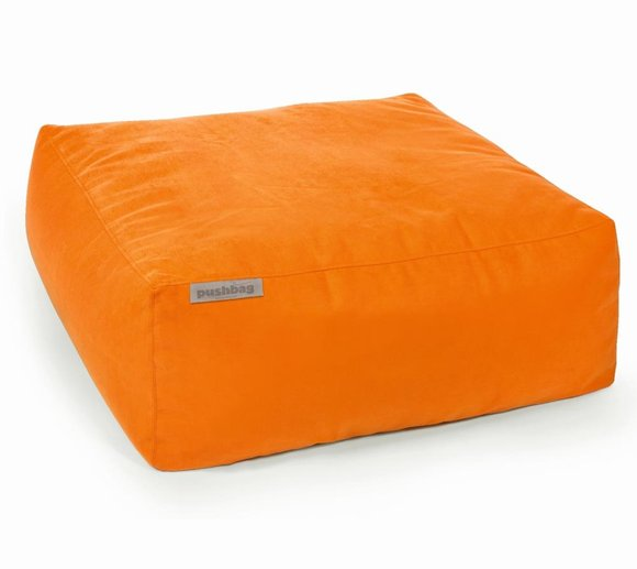 Pushbag Sitzsack, Sitzkissen, Sitzliege Easy Soft orange