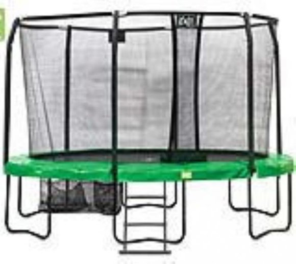 EXIT Trampolin JumpArena Oval All-in-one 244x380cm