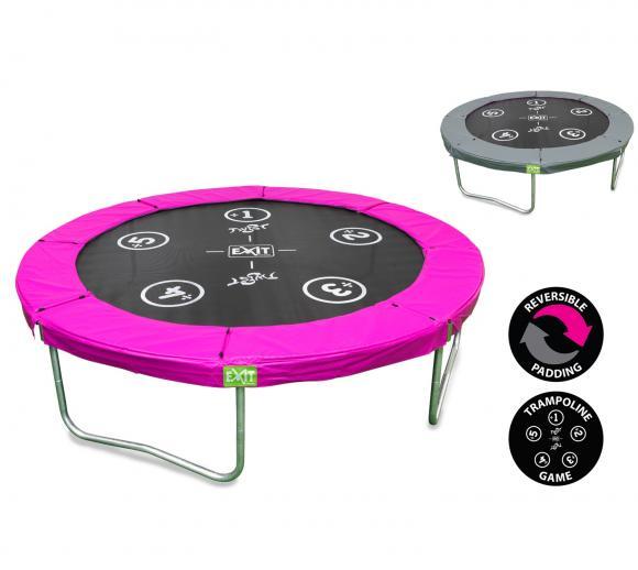 EXIT Trampolin Twist Pink/Grau Ø183cm