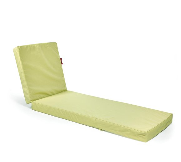 Outbag Topper Auflage Liege Flat Plus lime