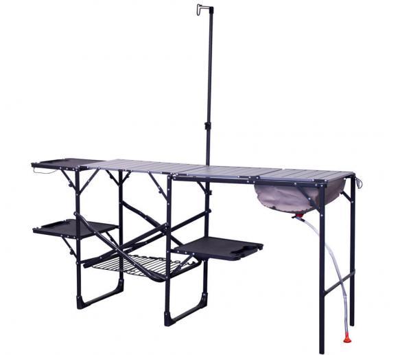 GCI Outdoor Campingtisch Reisetisch Campingküche Klapptisch Master-Station