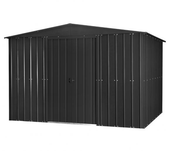 Globel Industries Metallgerätehaus 8x10 anthrazit / 234x299 cm