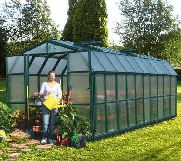 Rion Kunststoff Gewächshaus Grand Gardener 412, 267x764cm