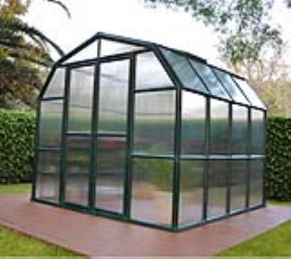 Rion Kunststoff Gewächshaus Grand Gardener 44, 267x264cm