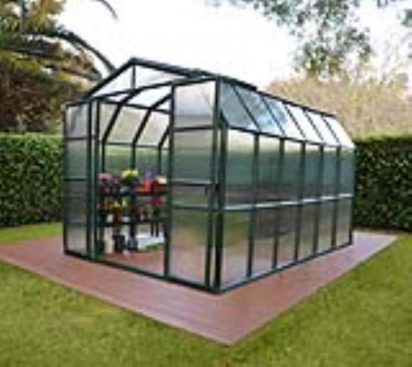 Rion Kunststoff Gewächshaus Grand Gardener 46, 267x389cm