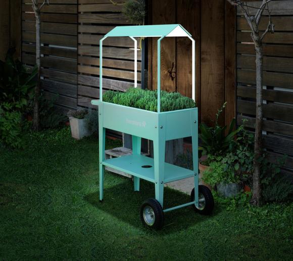 Herstera Garden Hochbeet Überdachung Mint, passend zu Kräuterfabrik