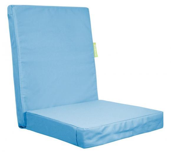 Outbag Topper High Rise Plus aqua Auflage Stuhl