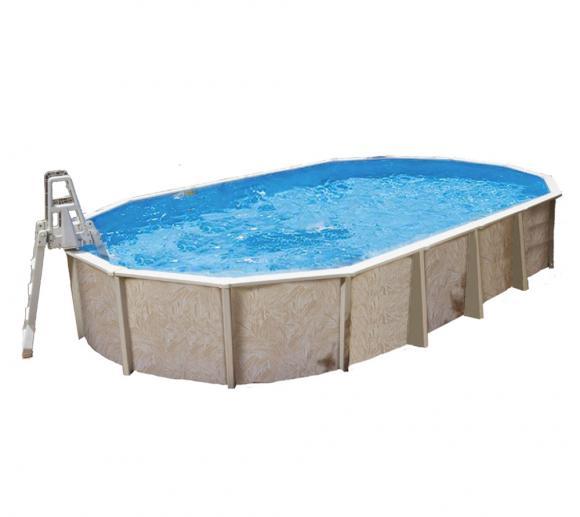 Interline Schwimmbad Pool u. Schwimmbecken Diana 730x360 cm