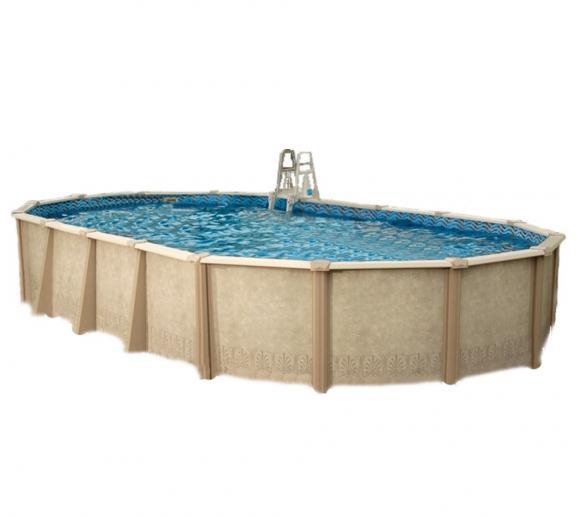 Interline Schwimmbad Pool u. Schwimmbecken Sunlake 730x360 cm
