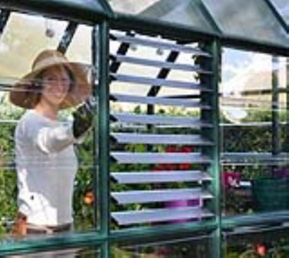 Lamellenfenster passend für Rion Gewächshäuser