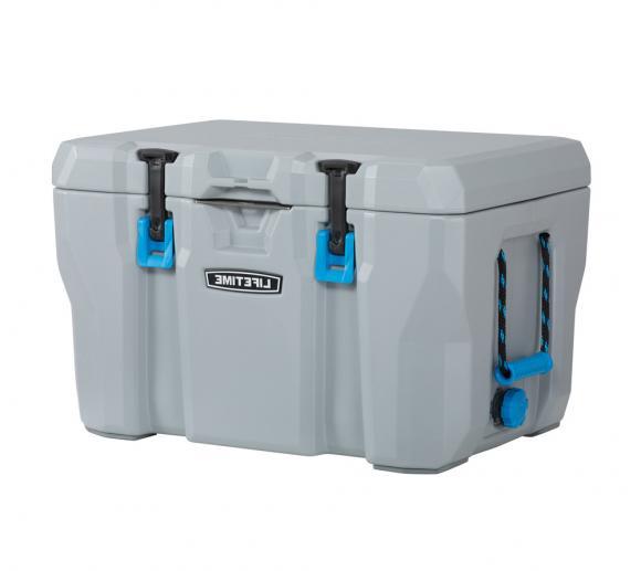 Lifetime Premium Kühlbox Campingbox Cooler inkl. Tragegriffen und Flaschenöffner