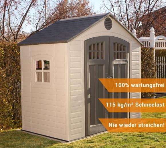 Lifetime Kunststoff Gerätehaus Kompakt 244x153cm