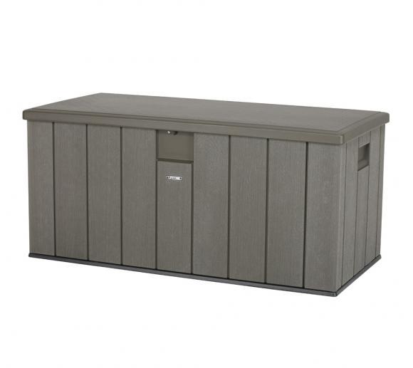 Lifetime Premium Kissenbox, Gartenbox und Auflagenbox 570l Volumen