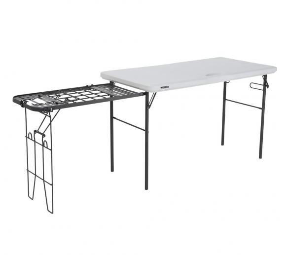 Lifetime Kunststoff Grill und BBQ Tisch höhenverstellbar