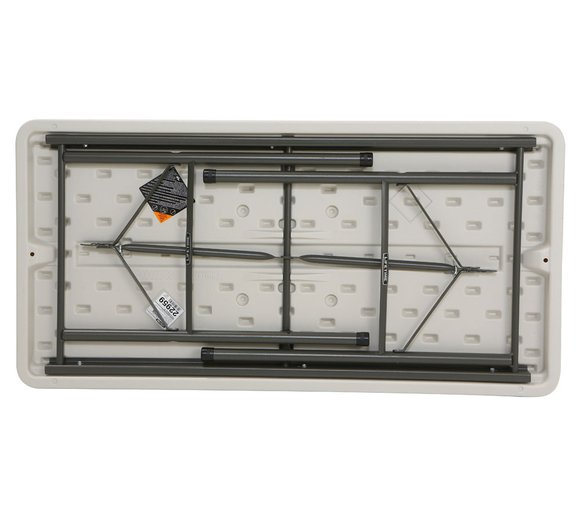 Lifetime Kunststoff Falttisch 122x61 cm