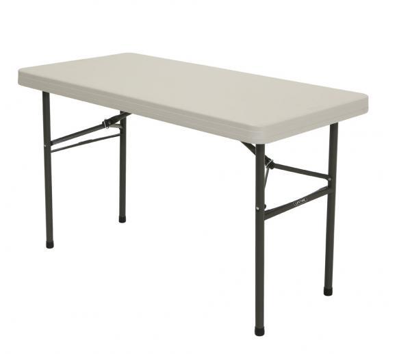 Lifetime Kunststoff Falttisch 122x61 cm, 5er Set