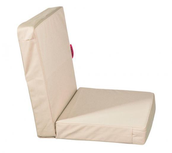 Outbag Topper Auflage Stuhl Low Rise Plus beige