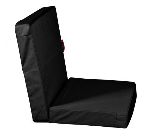 Outbag Topper Low Rise Plus schwarz Auflage Stuhl