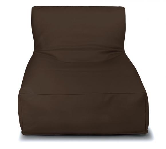 Outbag Sitzsack Newlounge Deluxe skin chestnut Sitzlounge Sitzliege