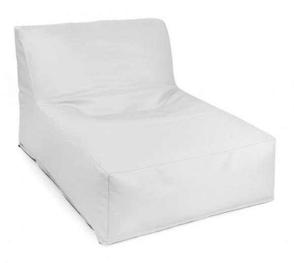 Outbag Sitzsack, Sitzlounge, Sitzliege Newlounge Skin White