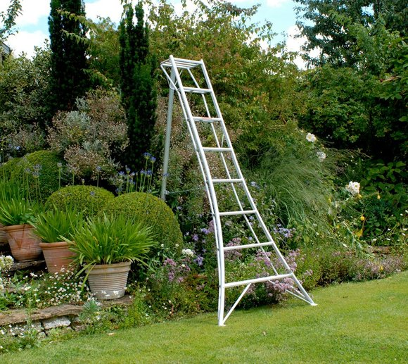 Niwaki 3-Holm-Gartenleiter 300cm, 150kg Traglast