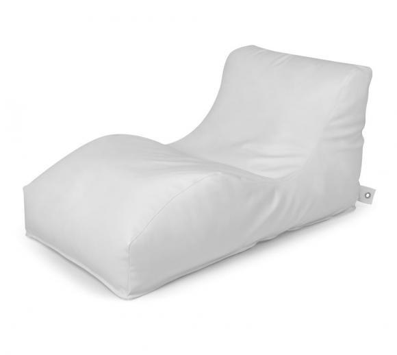 Outbag Sitzsack Wave Light white Sitzlounge Sitzliege