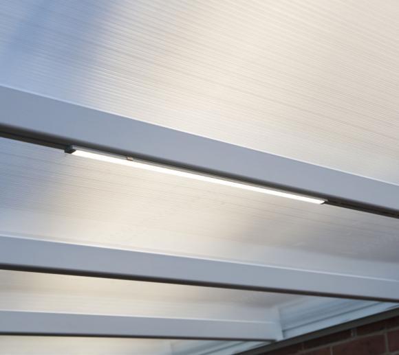 Palram Lichtleiste für Pavillons, Wintergärten, Gerätehäuser und Terrassenüberdachungen