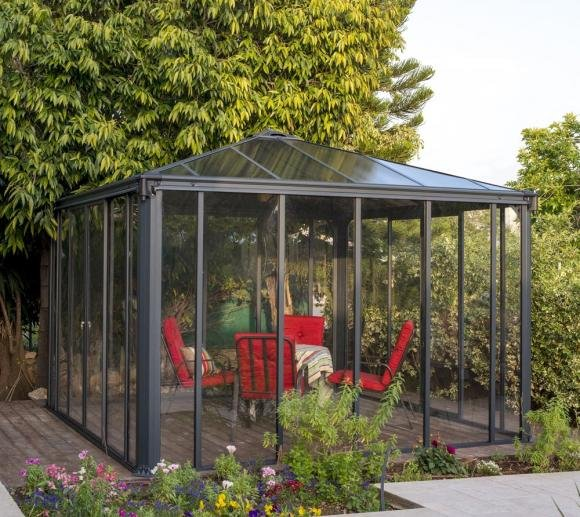 Palram Aluminium Wintergarten Und Pavillon Ledro 3600 360x360 Cm