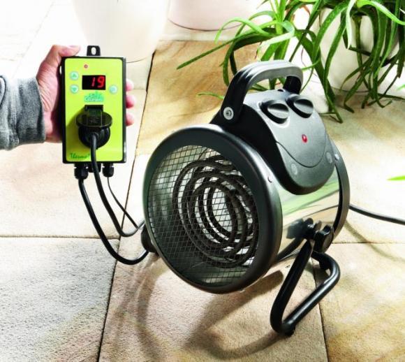 Biogreen Gewächshausheizung Palma (Thermostat Digital)