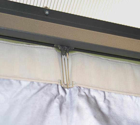 Palram Aluminium Gazebo Pavillon Clips für Vorhänge