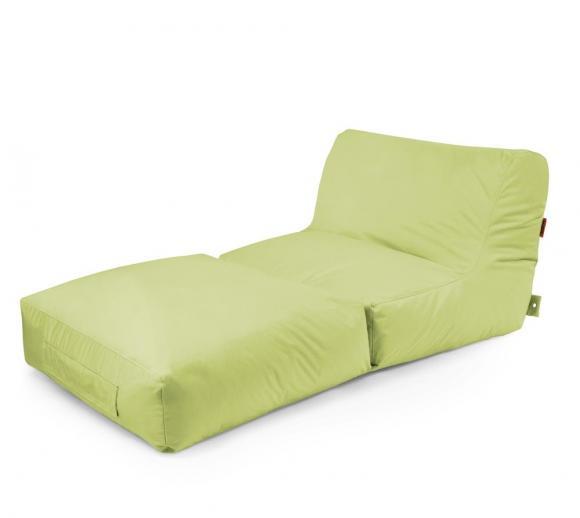 Outbag Sitzsack, Sitzkissen, Sitzliege Peak Plus Lime