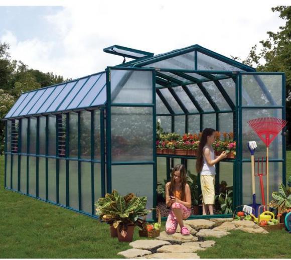 Rion Kunststoff Gewächshaus Prestige 410, 267x639cm