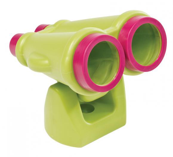 Axi Kinderspielhaus Zubehör Fernglas hellgrün
