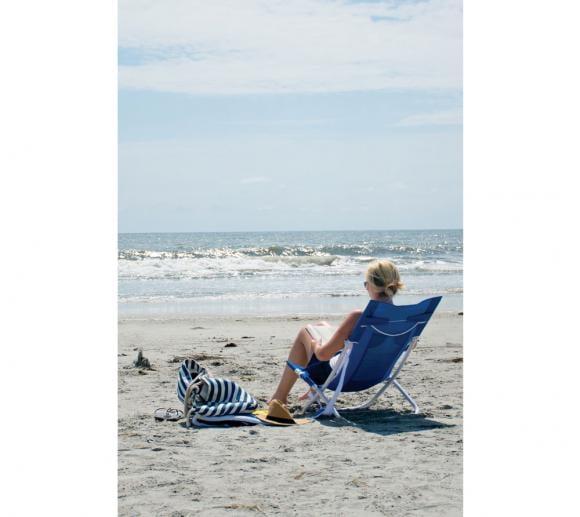 Rio Brands Strand Hängematten Stuhl blau