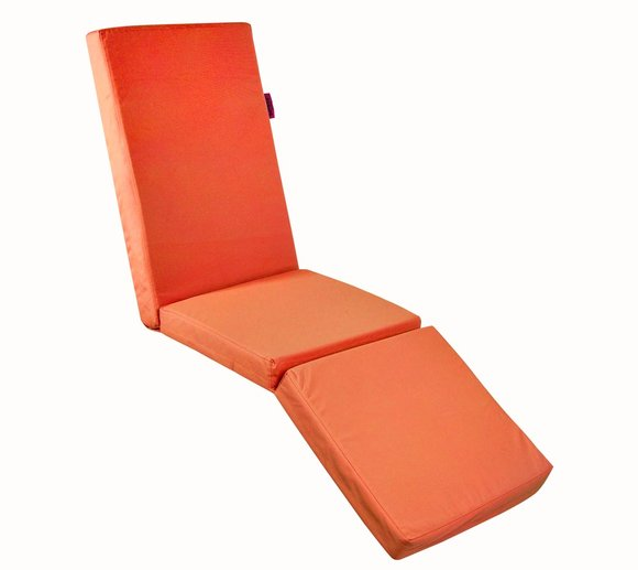 Outbag Topper Relax Plus orange Auflage Hochlehner Orange