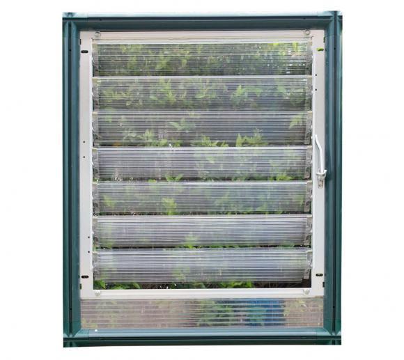 Rion Lamellenfenster passend für Rion Gewächshäuser