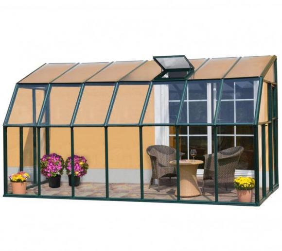 Rion Anlehngewächshaus Sun Lounge 37, 201x448cm