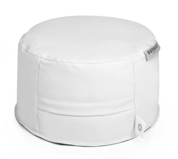 Outbag Sitzsack, Sitzkissen, Sitzsessel Rock Light Weiß