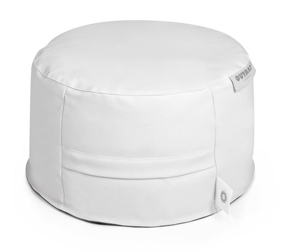 Outbag Sitzsack, Sitzkissen, Sitzsessel Rock Skin Weiß