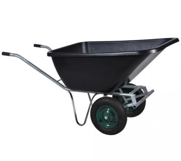 Roto Schubkarre M, Transportkarre, Zweiradkarre, 200l Volumen
