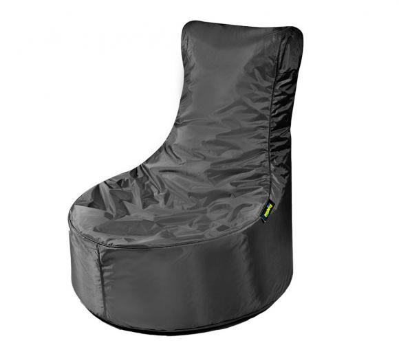 Pushbag Sitzsack, Sitzsessel, Sitzstuhl Seat Oxford schwarz