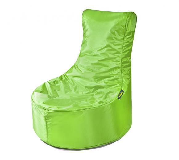 Pushbag Sitzsack, Sitzsessel, Sitzstuhl Seat Oxford lime