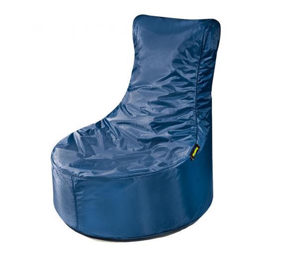 Pushbag Sitzsack, Sitzsessel, Sitzstuhl Seat Oxford marina blau