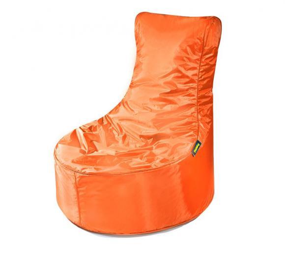 Pushbag Sitzsack, Sitzsessel, Sitzstuhl Seat Oxford orange
