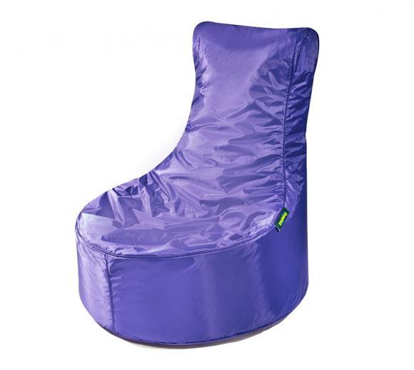 Pushbag Sitzsack, Sitzsessel, Sitzstuhl Seat Oxford purple