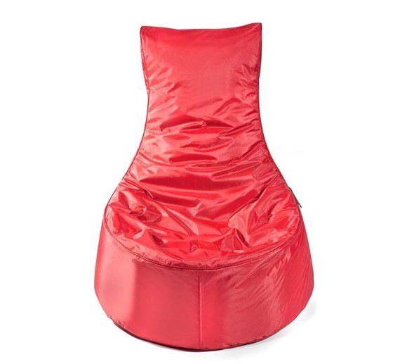 Pushbag Sitzsack, Sitzsessel, Sitzstuhl Seat Oxford rot